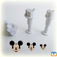 Mouse Plunger Cutter small 3 pcs