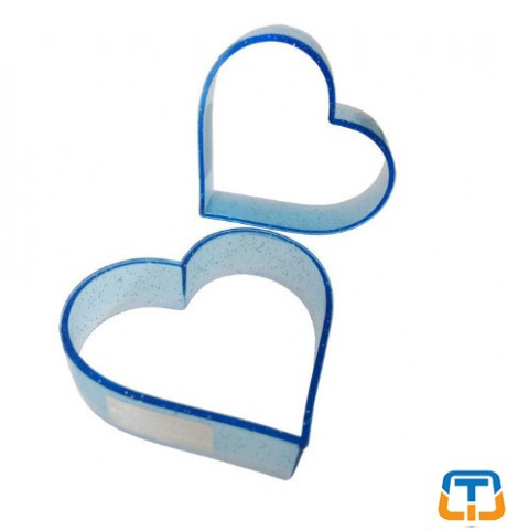 Heart Polycarbonate Cookie Cutter