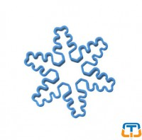 Snowflake Polycarbonate Cookie Cutters
