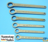Carl Walter 460SG-Set6 Ring End Spanners