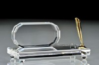 Asfour Kristalle - Asfour Crystals - Stiftehalter & Stife - Pen Holder and Pens