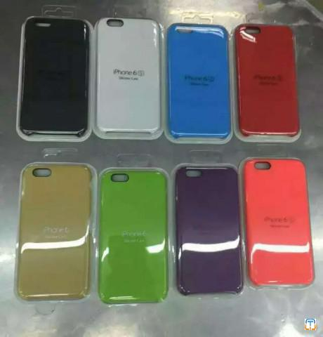 High Copy Apple iPhone Leather Case/Silicone Case, Mobile Phone Protective Cases, Cellphone Cove