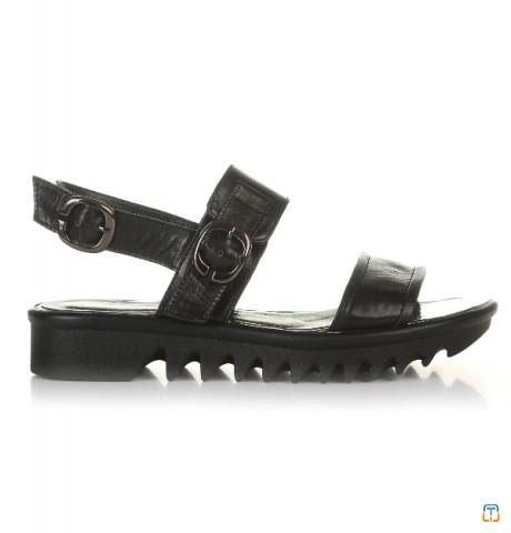 Ukraine genuine leather women's sandals Passo Avanti (6114-1)