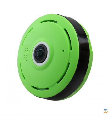 "UFO 360°/180°Smart  Panoramic Camera home office safety application with 1/3"" P"