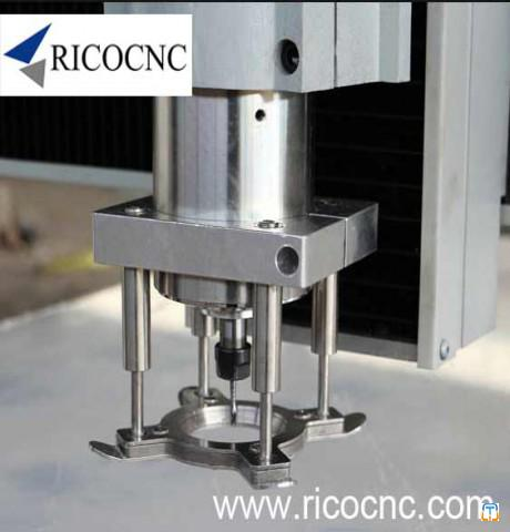 DIY CNC Pressure Foot  Spindle Clamping Hold Down System for CNC Router