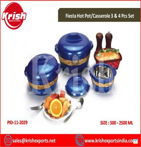 Fiesta Hot Pot/Casserole 3 & 4 Pcs Set