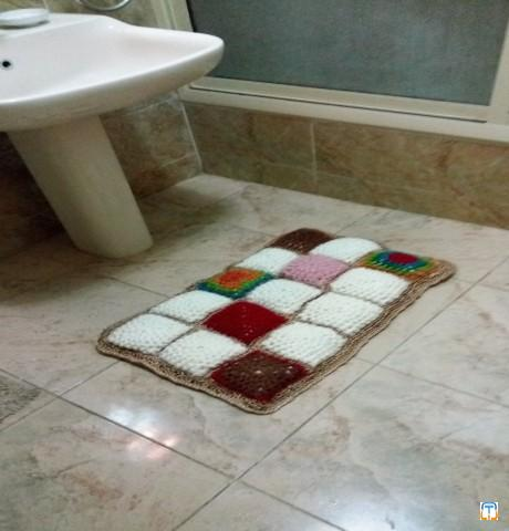 Crochet Bathroom rug