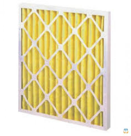 AHU replacement air Pleated panel filter
