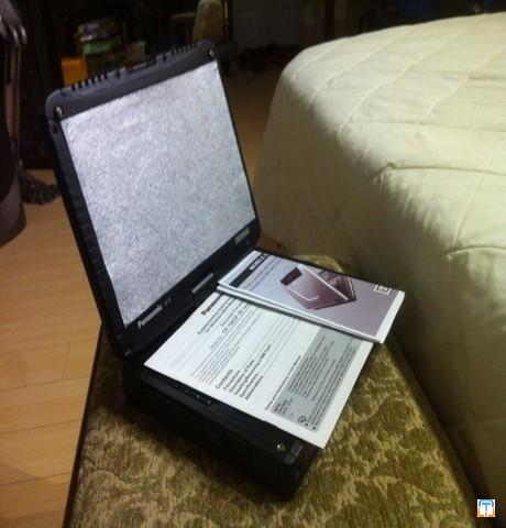 NEW 0 Hrs MILITARY BLACK OPS EDITION PANASONIC TOUGHBOOK----  $1700usd