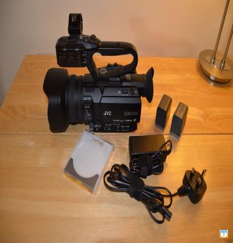 JVC GY HM170 Camcorder 4K Ultra HD Camcorder-----$1000USD
