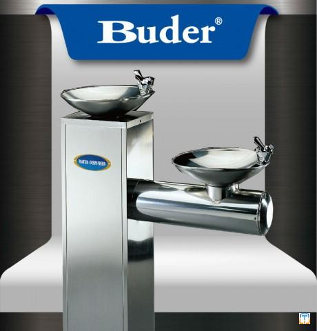 Taiwan Buder Suitable Public Stainless Steel Water Cooler Drinking Fountain