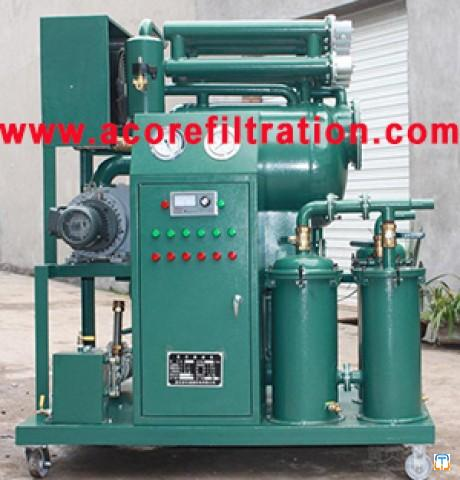 6000L/hr Mobile Transformer Oil Filtration Machine