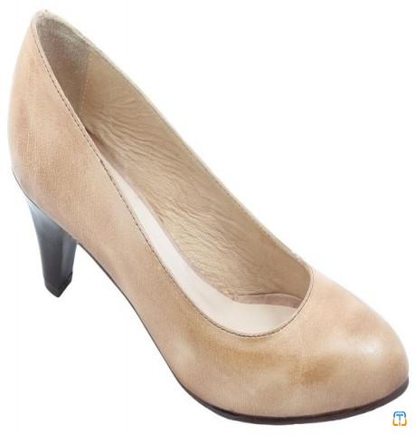 Oryx Beige Heel For Women