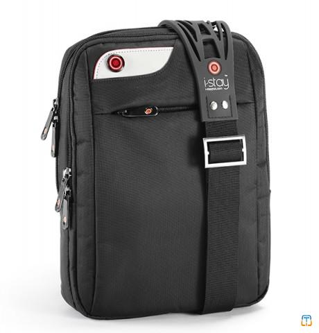 iPad tablet/notebook bag with non-slip strap
