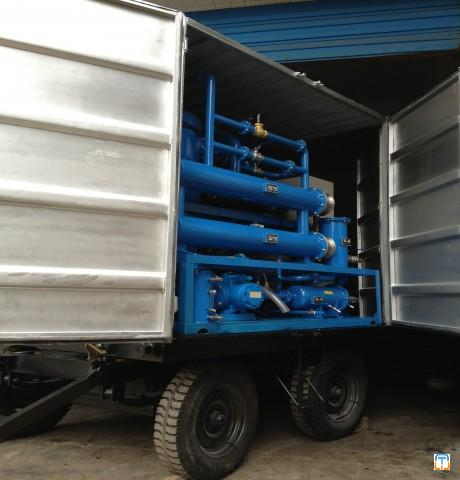 Mobile Transformer Oil Purification Plant