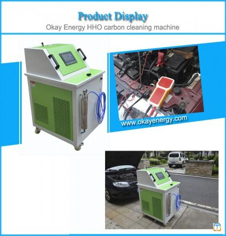 car service equipment hho carbon cleaner machine