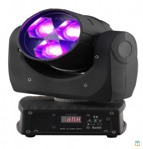 3x15w RGBW 4in 1 LED flower effect moving head light