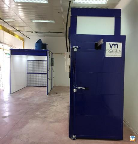 POWDER COATING CURING OVEN - ELECTRICAL