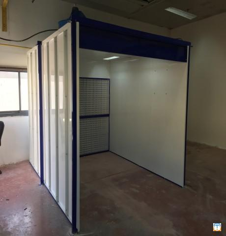 DRY FILTERED SPRAY BOOTH