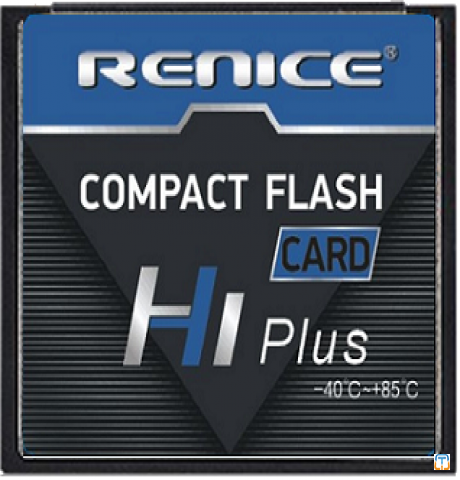 Renice CF Compact Flash card, 32GB SLC, wide-temp, industrial grade