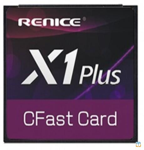 Renice CFast memory card, 16GB SLC, wide-temp, industrial grade