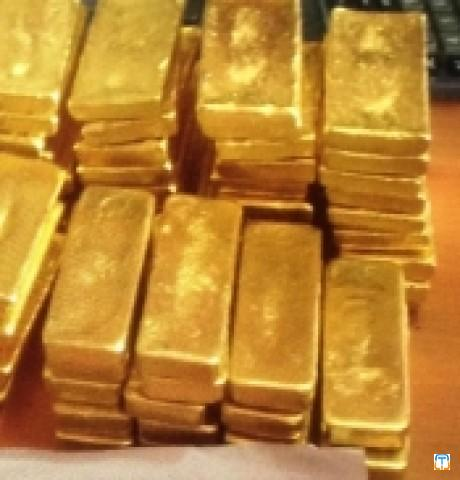 Gold Bars and Nuggets, 27000USD/KG
