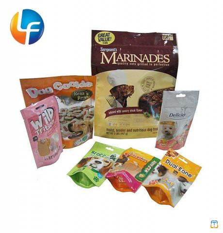 Laminated pet food bag15kg/biodegradable dog and deer food packaging bags