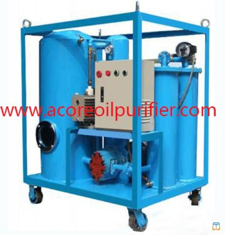 Hydraulic Oil Filtration Unit For Cleaning Waste Lubricating Oil