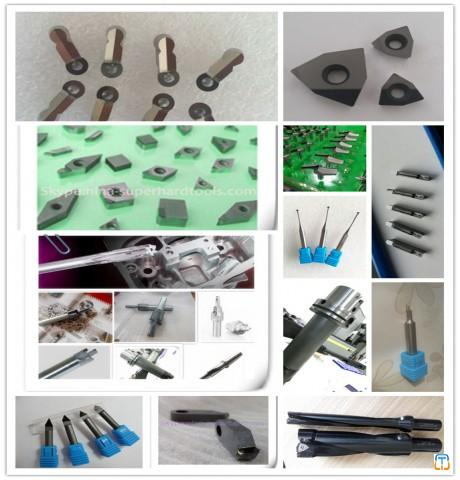 PCD inserts and pcd tools