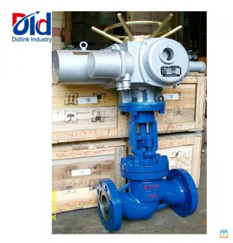 Cast Iron Water Flow Manual Operated With Handwheel Double Flanged Globe Valve Prices