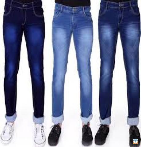 Men Basic 5 Pocket Jeans