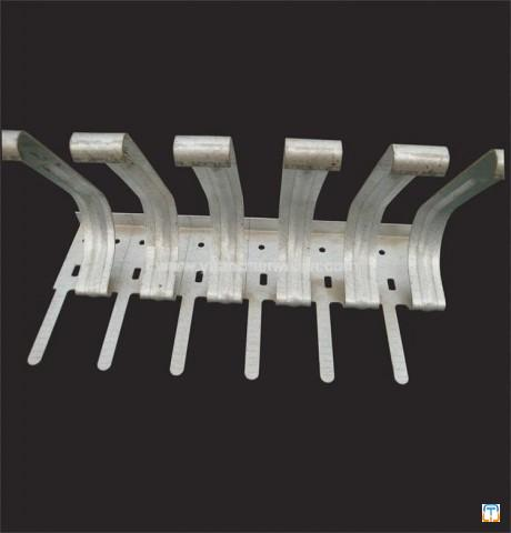 Building Hardware Steel Structure Punching Fittings