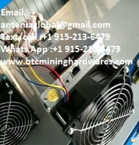 Brand New Antminer A3 Bitcoin Miner Whatsapp :+1 915-213-6479