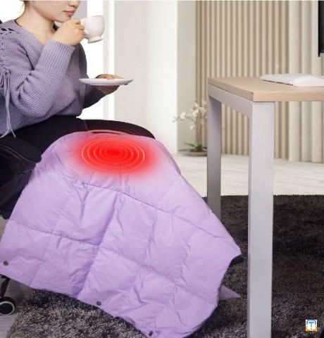 New Launch powered by Power bank multifunction 3 seconds heat washable Electrical Blanket
