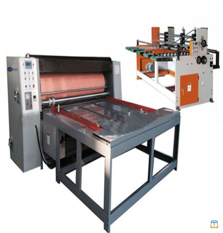 Chain-drive feeding Rotary die-cutting machine