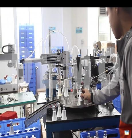 Fully automatic LED Bulb Assembly Line