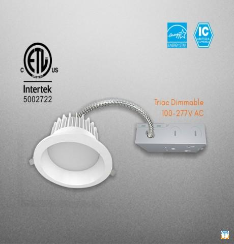Commercial LED SMD Downlight