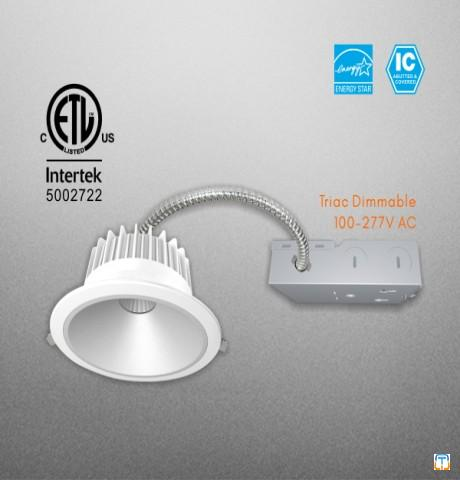 15W Commercial LED COB Downlight