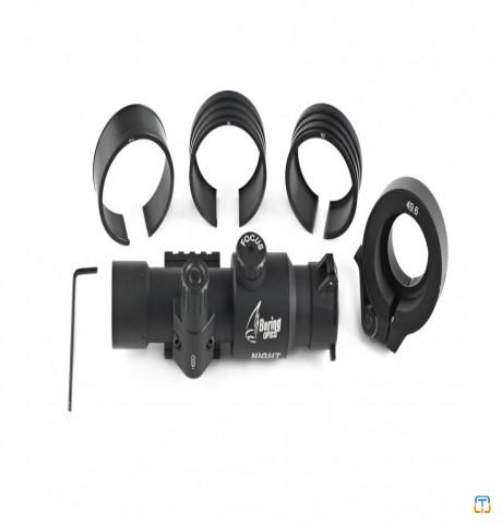 Bering Optics Night Probe Gen 2+ Clip-On Night Vision Attachment