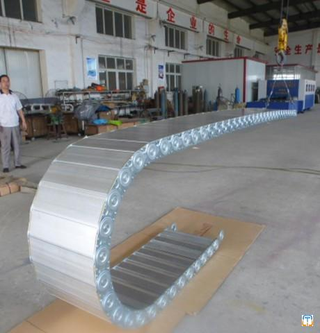 Bridge steel drag chain