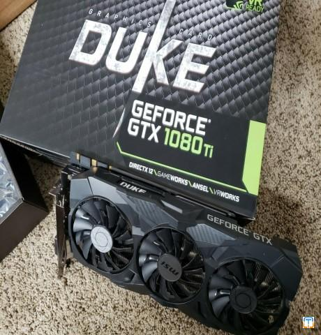 MSI GeForce GTX 1080 Ti DUKE 11G OC 11GB 352-Bit GDDR5X PCIe Graphics Card