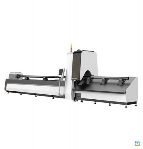 CNC Fiber Laser Cutting Machine For Steel Tubes With Factory Price