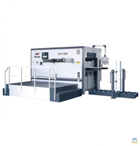 Manual Automatic Die Cutting And Creasing Machine ZHMY-2100
