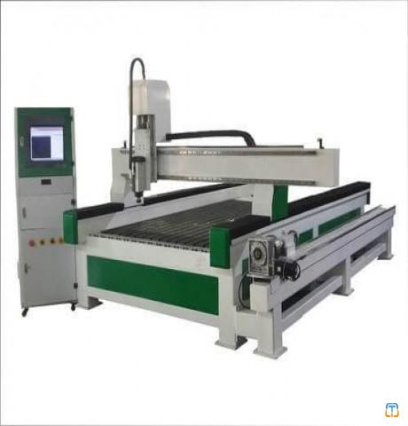 Best Price 3D CNC Wood Carving Machine with Rotary Axis For Sale