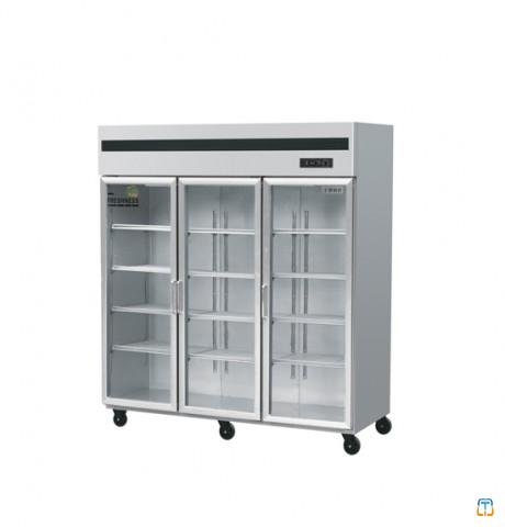 Commercial Upright Glass Door Freezer/Supermarket Refrigerator