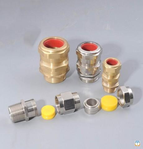 Ex Standard Brass Cable Gland QW6 Series