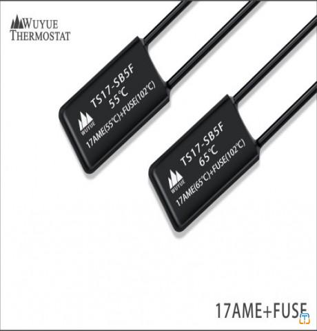 17AME+FUSE thermal protector with fuse combination