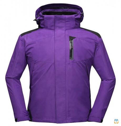 Men&039;s 100%polyester and inner fleece coat