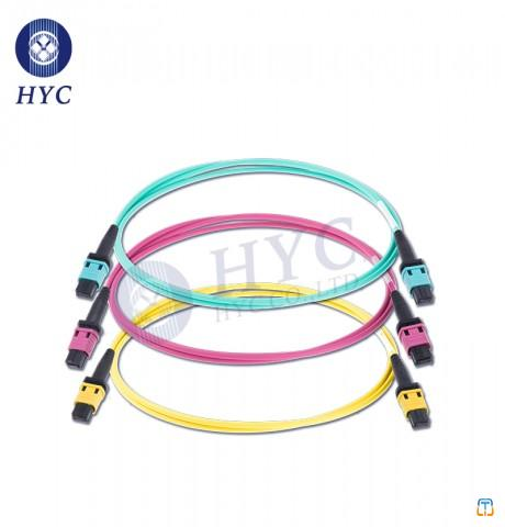 8 12 24 Cores MPO/MTP Patch Cord OM2 OM3 OM4 Fiber Optic Cable Jumpers