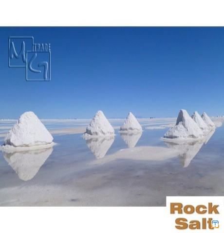 Rock salt deicing salt